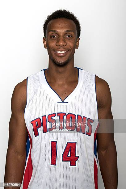 Ish Smith of the Detroit Pistons poses for a head shot on July 8 2016 at the Palace of Auburn Hills in Auburn Hills Michigan NOTE TO USER User...