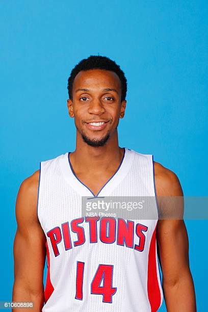 Ish Smith of the Detroit Pistons poses for a headshot during the 20162017 Detroit Pistons Media Day on September 26 2016 in Auburn Hills Michigan...