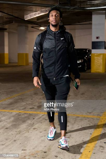 Ish Smith of the Washington Wizards arrives for the game on March 10 2020 at Capital One Arena in Washington DC NOTE TO USER User expressly...
