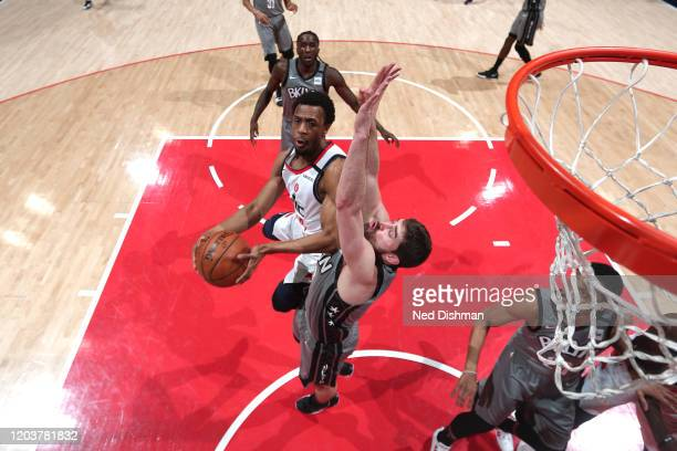 Ish Smith of the Washington Wizards shoots the ball against the Brooklyn Nets on February 26 2020 at Capital One Arena in Washington DC NOTE TO USER...