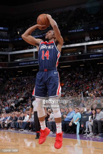 Ish Smith of the Washington Wizards shoots the ball against the Sacramento Kings on March 3 2020 at Golden 1 Center in Sacramento California NOTE TO...