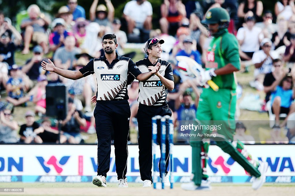 New Zealand v Bangladesh - 3rd T20