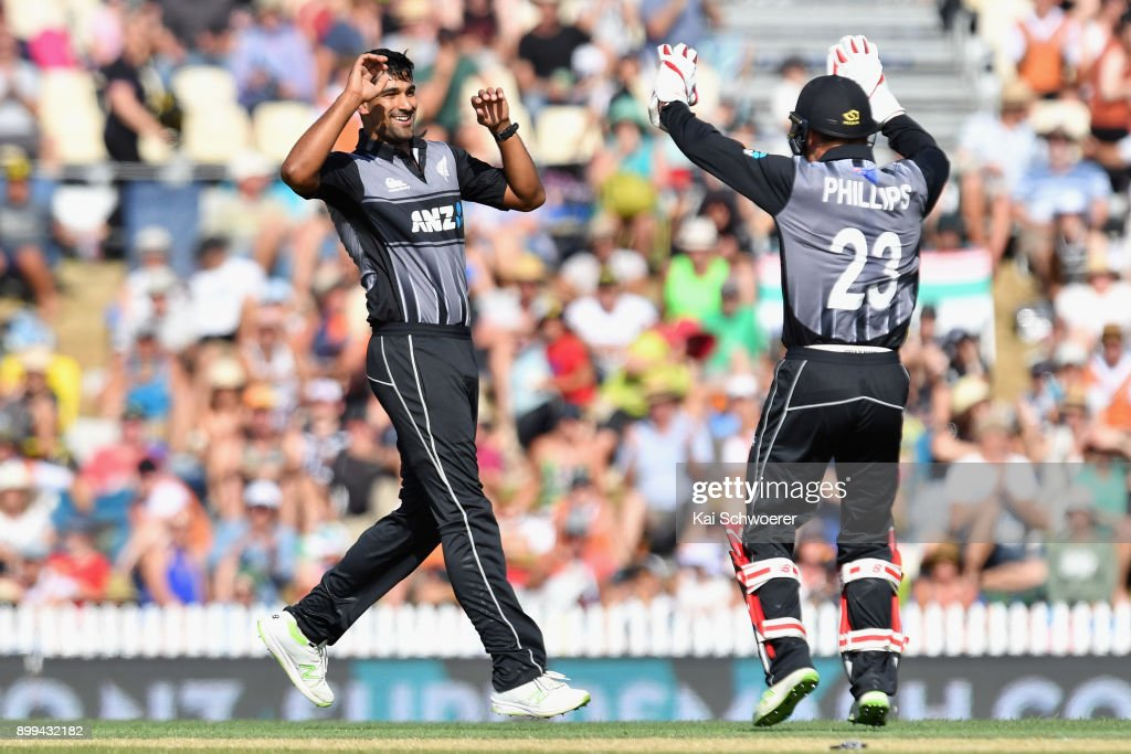 New Zealand v West Indies - 1st T20