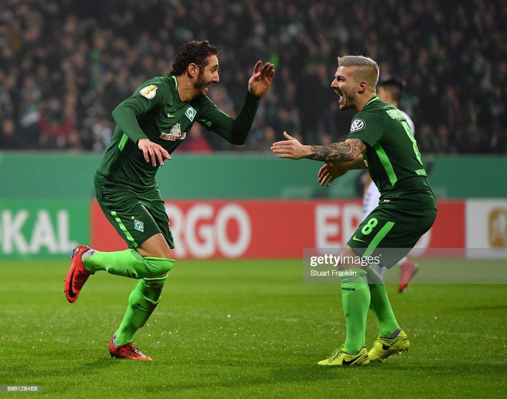 Werder Bremen v SC Freiburg - DFB Cup