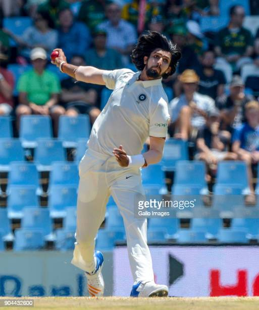 Ishant Sharma of India during day 1 of the 2nd Sunfoil Test match between South Africa and India at SuperSport Park on January 13 2018 in Pretoria...