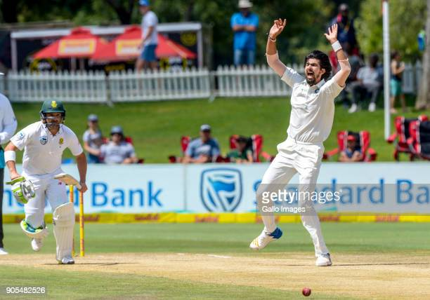 Ishant Sharma of India during day 4 of the 2nd Sunfoil Test match between South Africa and India at SuperSport Park on January 16 2018 in Pretoria...