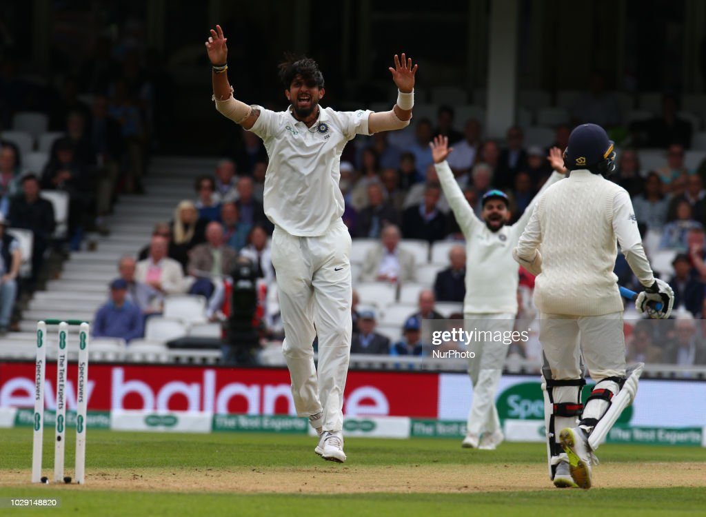 England v India: Specsavers 5th Test - Day Two : News Photo
