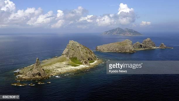 Ishigaki Japan File photo taken in September 2013 shows the Senkaku Islands in the East China Sea