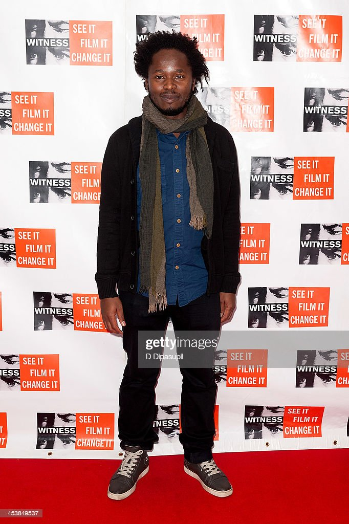 Ishmael Beah attends the 2013 Focus For Change gala benefiting WITNESS at Roseland Ballroom on December 5, 2013 in New York City.