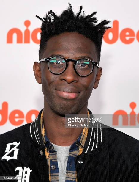 Ishmel Sahid attends Nickelodeon' Holiday Party With Casts Of Cousins For Life And Henry Danger at Nickelodeon Studios on November 10 2018 in Burbank...