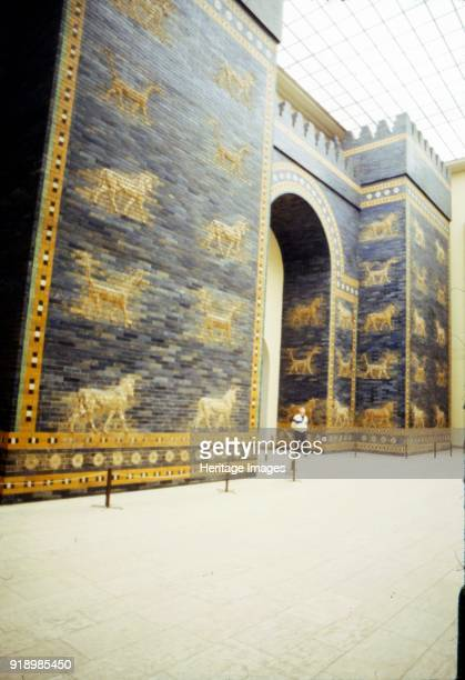Ishtar Gate Babylon 575 BC The Ishtar Gate was the eighth gate to the inner city of Babylon It was constructed in about 575 BC by order of King...