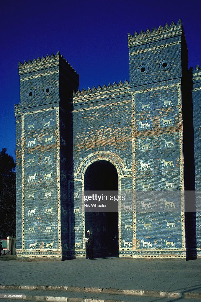ishtar gate in babylon pictures getty images