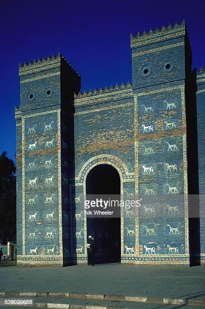 Ishtar Gate in Babylon