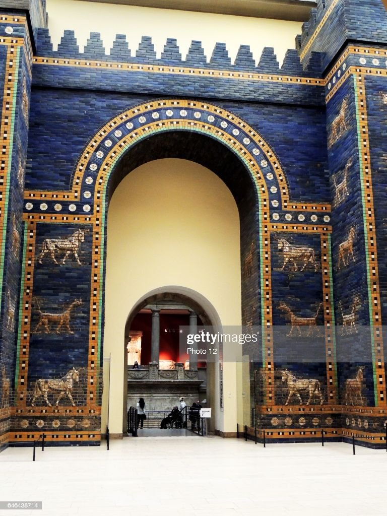 The Babylonian Ishtar Gates : News Photo