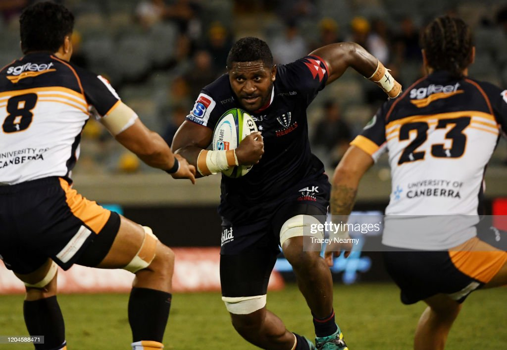 Super Rugby Rd 2 - Brumbies v Rebels : News Photo