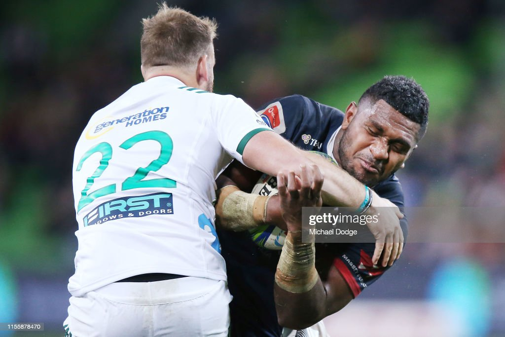 Super Rugby Rd 18 - Rebels v Chiefs : News Photo