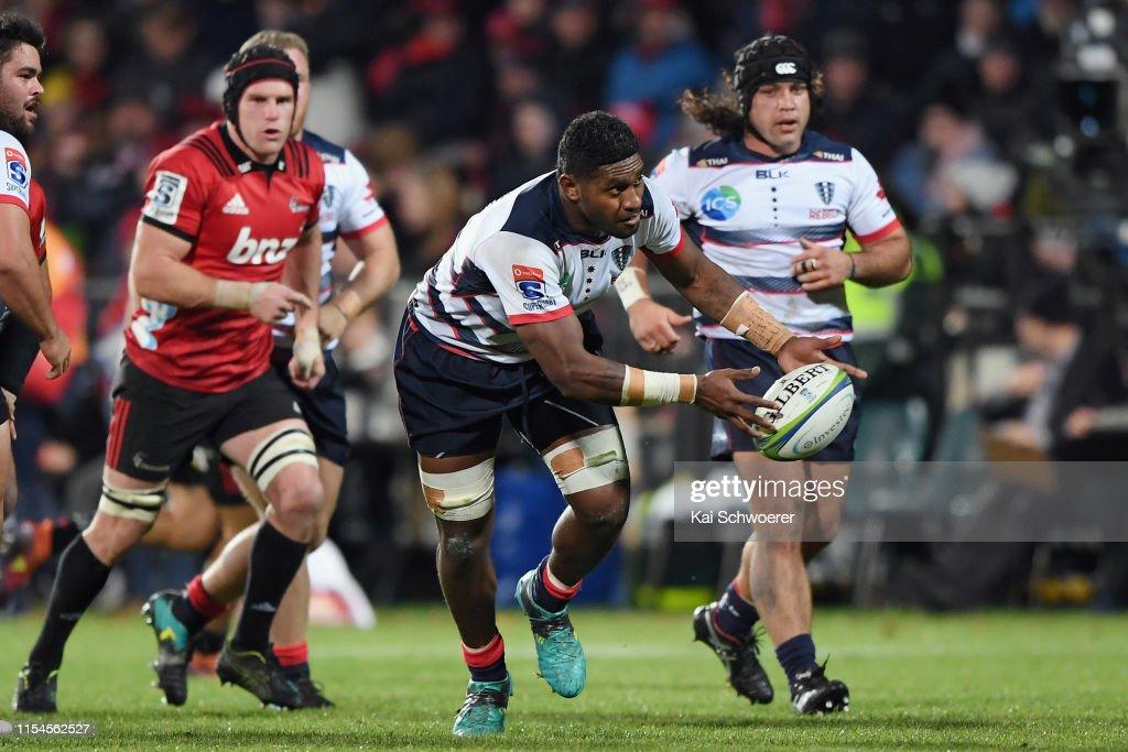 Super Rugby Rd 17 - Crusaders v Rebels : News Photo