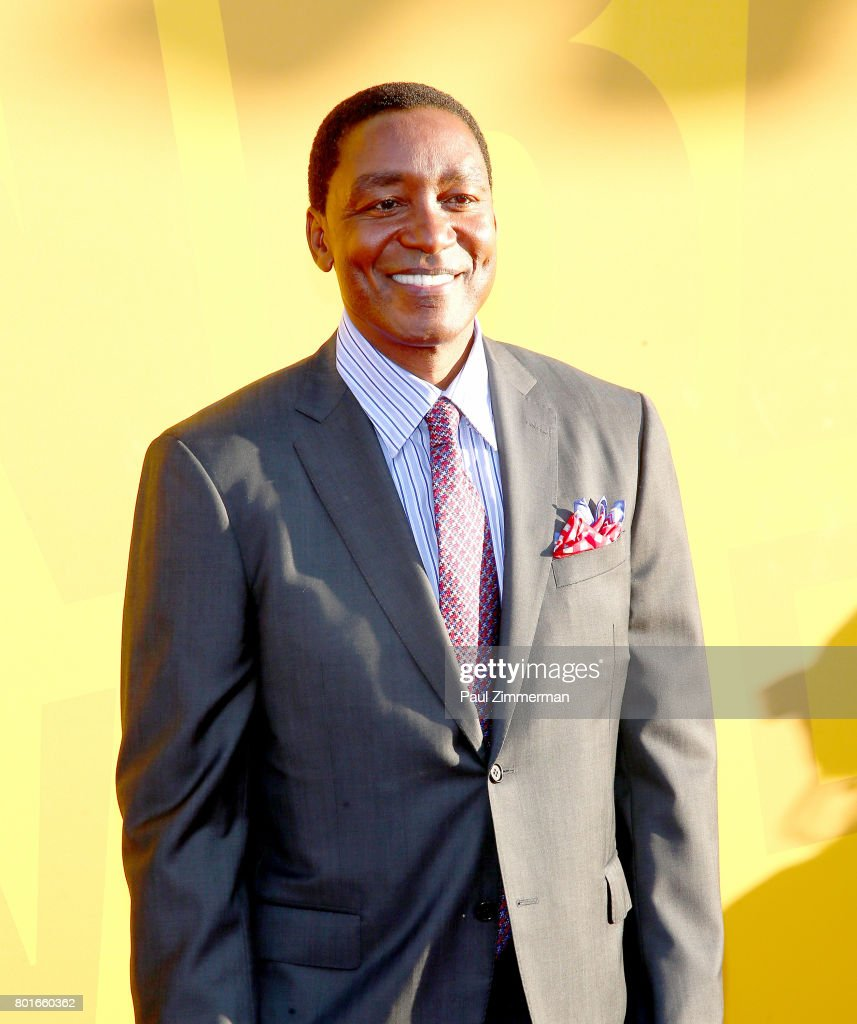 Isiah Thomas attends the 2017 NBA Awards at Basketball City - Pier 36 - South Street on June 26, 2017 in New York City.