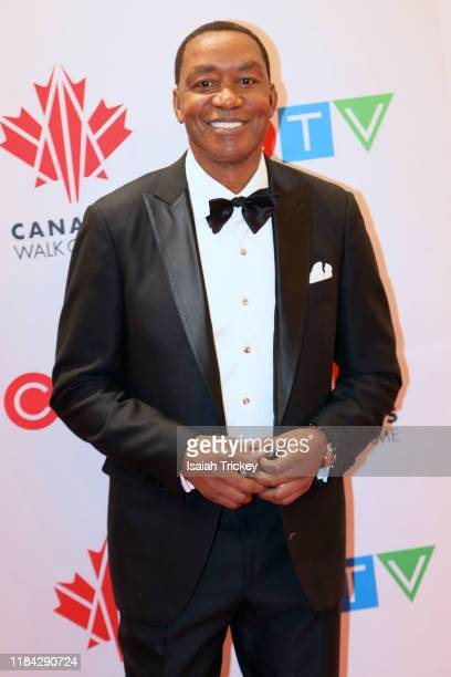 Isiah Thomas attends the 2019 Canada's Walk Of Fame at Metro Toronto Convention Centre on November 23 2019 in Toronto Canada