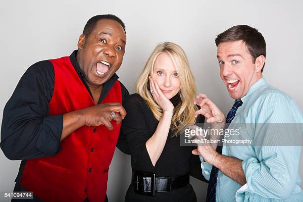 Isiah Whitlock Jr Anne Heche and Ed Helms