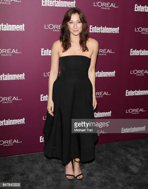 Isidora Goreshter arrives at Entertainment Weekly's 2017 PreEmmy Party held at Sunset Tower Hotel on September 15 2017 in West Hollywood California