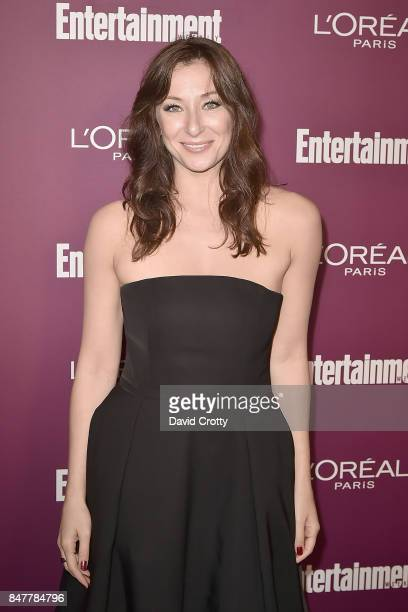 Isidora Goreshter attends the 2017 Entertainment Weekly PreEmmy Party Arrivals at Sunset Tower on September 15 2017 in West Hollywood California