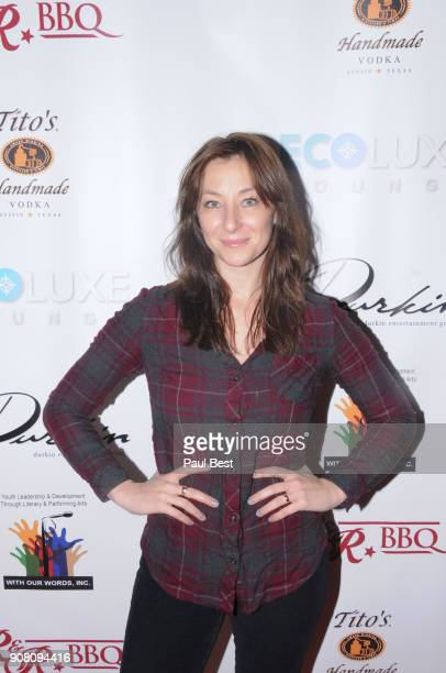 Isidora Goreshter attends the EcoLuxe Lounge Park City on January 20 2018 in Park City Utah