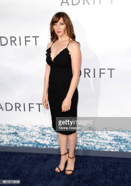 Isidora Goreshter attends the premiere of 'Adrift' at Regal LA Live Stadium 14 on May 23 2018 in Los Angeles California