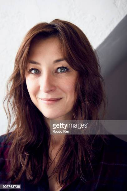 Isidora Goreshter from the film 'Clara's Ghost' poses for a portrait in the YouTube x Getty Images Portrait Studio at 2018 Sundance Film Festival on...