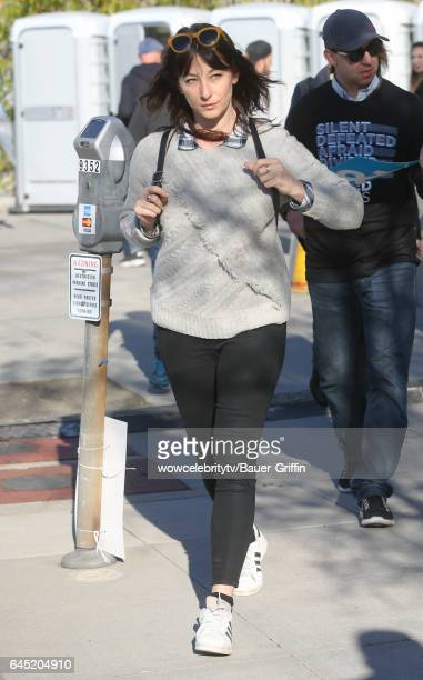 Isidora Goreshter is seen on February 24 2017 in Los Angeles California