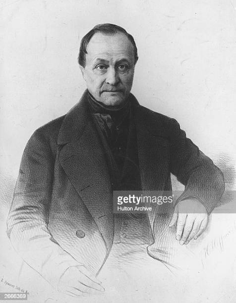 Isidore Auguste Marie Francois Xaviier Comte French philosopher father of Positivism and key figure in the inception of sociology