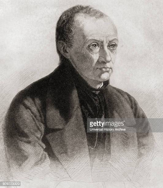 Isidore Auguste Marie François Xavier Comte 1798 – 1857 aka Auguste Comte French philosopher From The Story of Philosophy published 1926