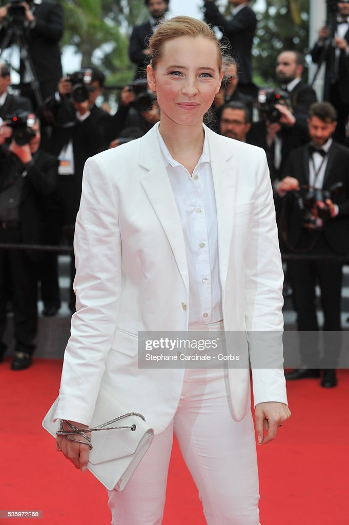 Isild Le Besco attend the 'Jimmy's Hall' premiere during the 67th Cannes Film Festival