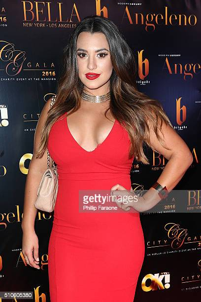 Isis Dolton attends the City Gala Fundraiser 2016 at The Playboy Mansion on February 15 2016 in Los Angeles California