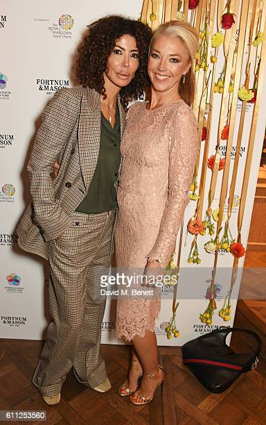 Isis Monteverde and Tamara Beckwith attend the 3rd Annual Ladies' Lunch in support of the Silent No More Gynaecological Cancer Fund at Fortnum Mason...