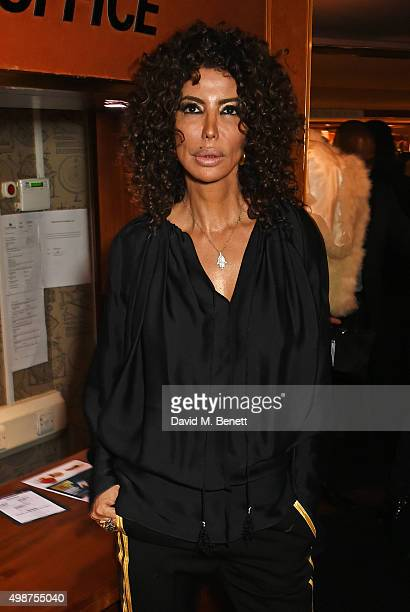 Isis Monteverde attends the screening of La Legende de La Palme d'Or at The Curzon Mayfair on November 25 2015 in London England