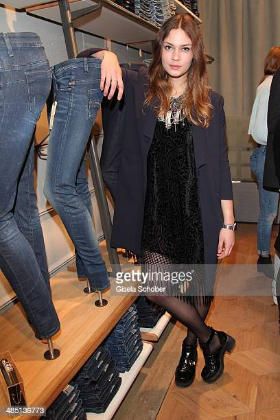 Isis Niedecken attends the opening of the G-Star women store on April 16, 2014 in Munich, Germany.