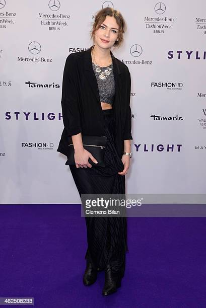 Isis Niedecken attends the Stylight Fashion Blogger Awards at Brandenburg Gate on January 13, 2014 in Berlin, Germany.