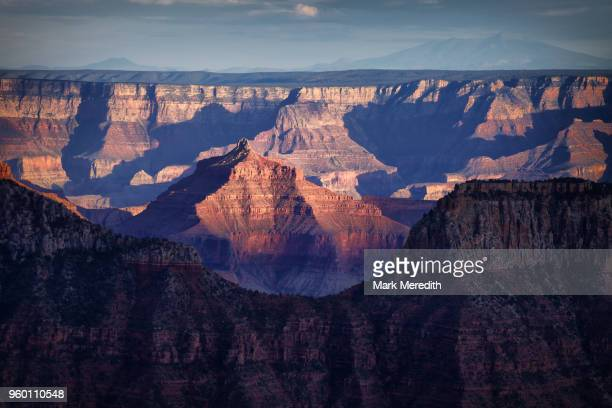 Isis Temple viewed from the Bright Angel area of Grand Canyon North Rim