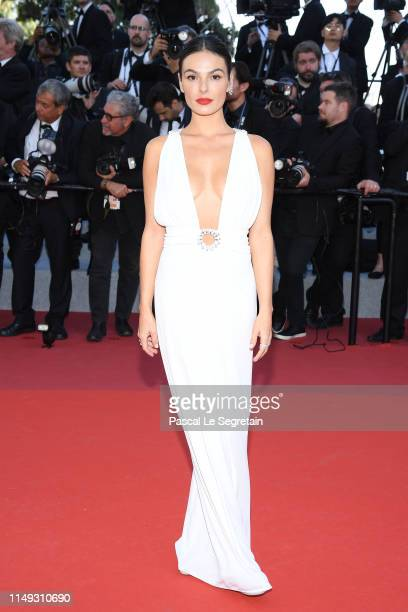 "Isis Valverde attends the screening of ""Les Miserables"" during the 72nd annual Cannes Film Festival on May 15, 2019 in Cannes, France."