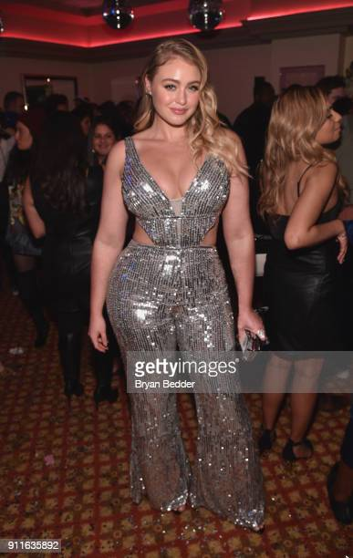 Iska attends the 60th Annual Grammy Awards after party hosted by Benny Blanco and Diplo with SVEDKA Vodka and Interscope Records on January 29 2018...
