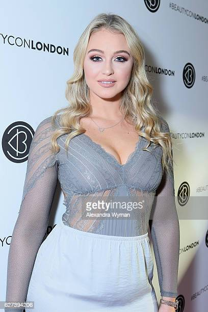 Iskra Lawrence attends Beautycon Festival London 2016 at Olympia London on December 3 2016 in London England
