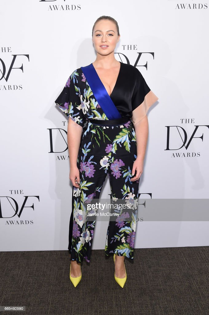 Iskra Lawrence attends the 2017 DVF Awards at United Nations Headquarters on April 6, 2017 in New York City.