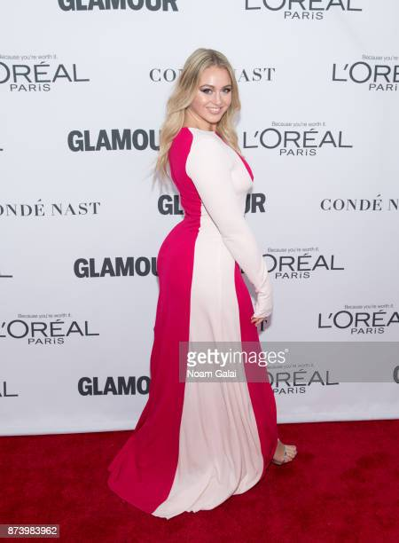 Iskra Lawrence attends the 2017 Glamour Women of The Year Awards at Kings Theatre on November 13 2017 in New York City