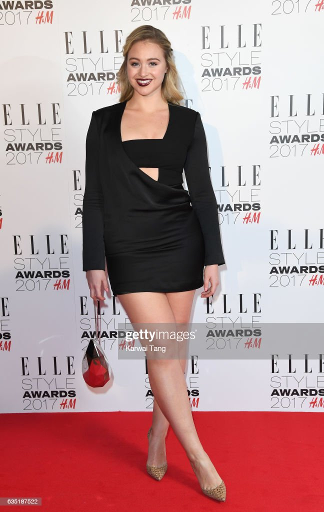 Iskra Lawrence attends the Elle Style Awards 2017 on February 13, 2017 in London, England.