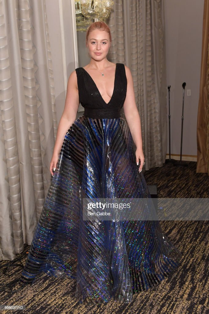 Iskra Lawrence attends the National Eating Disorders Association Annual Gala 2018 at The Pierre Hotel on May 16, 2018 in New York City.