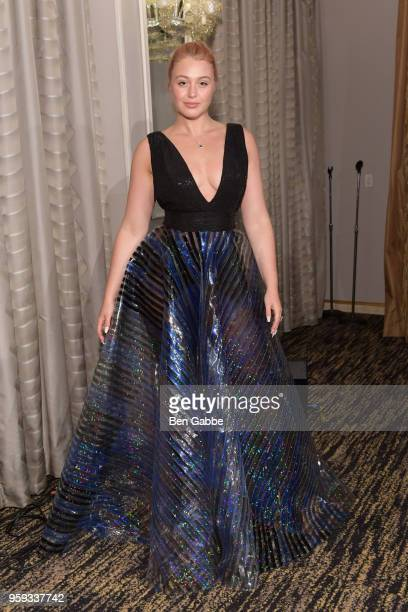 Iskra Lawrence attends the National Eating Disorders Association Annual Gala 2018 at The Pierre Hotel on May 16 2018 in New York City