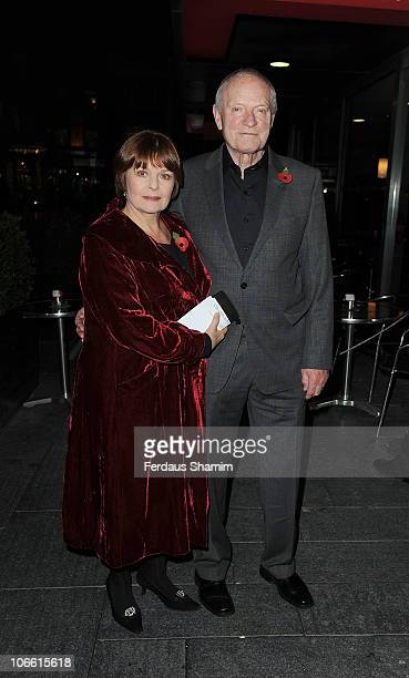 Isla Blair and Julian Glover attend The Theatrical Management Association - TMA Theatre Awards at Lyric Theatre on November 7, 2010 in London,...