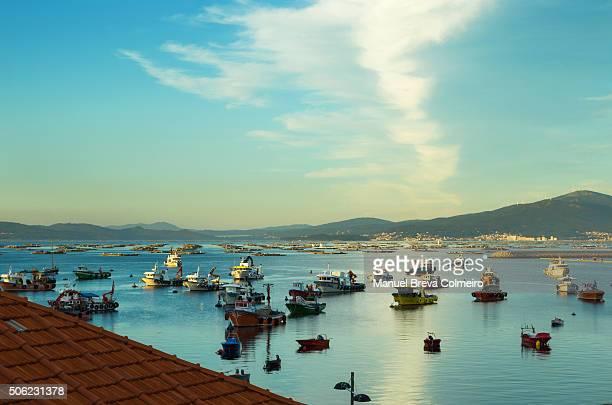 Isla de Arousa harbour