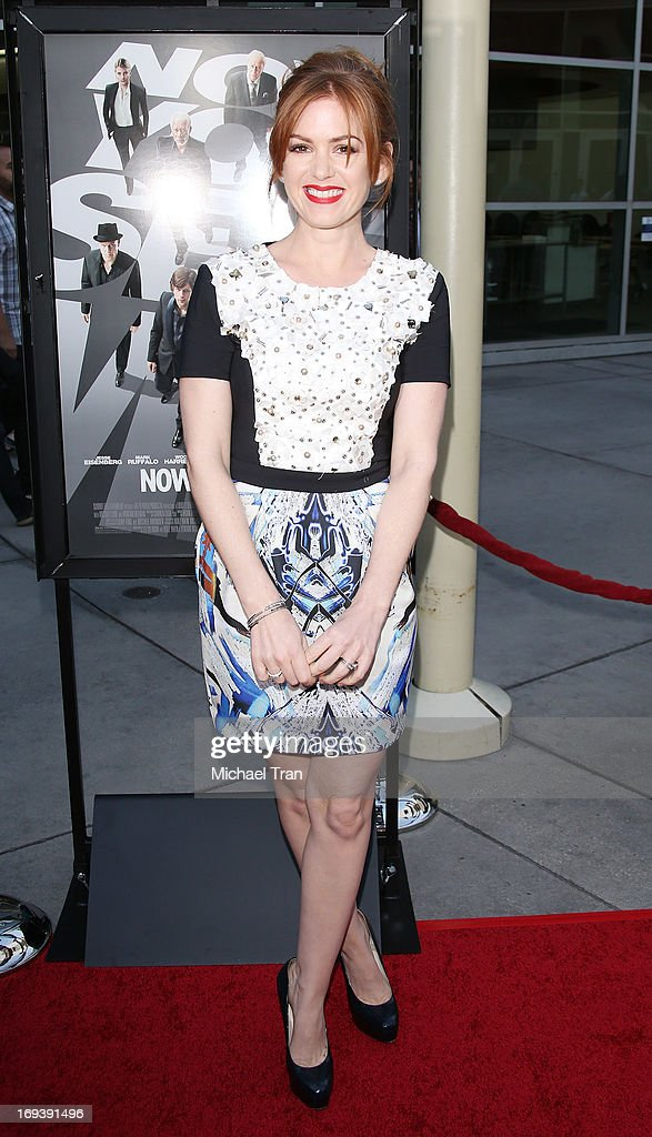 Isla Fisher arrives at the Los Angeles special screening of 'Now You See Me' held at ArcLight Hollywood on May 23, 2013 in Hollywood, California.